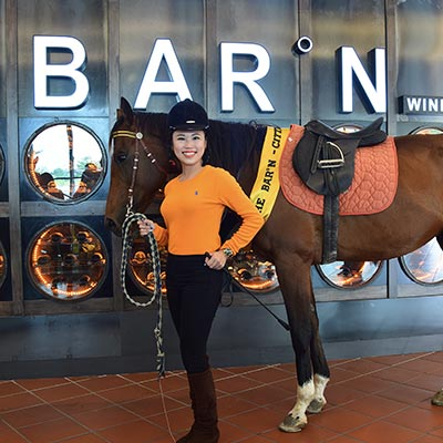 No horsing around: GO executes The BAR°N launch in a 'stable' manner