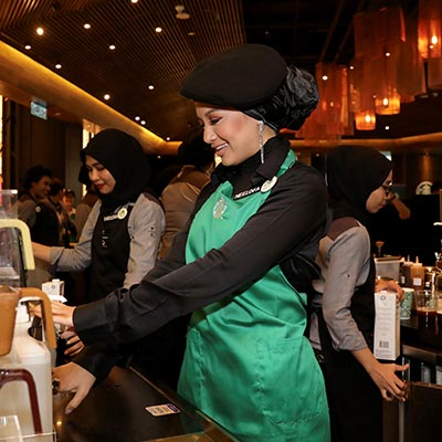 GO helps spread kindness with Starbucks and Neelofa